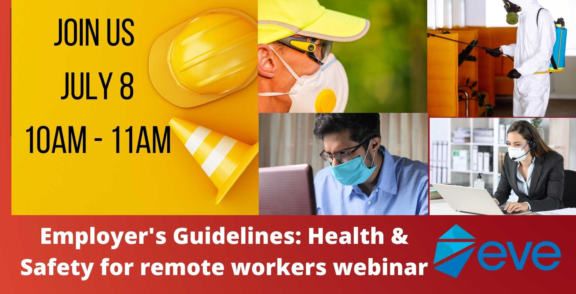 Health & Safety for Remote Workers, July 8 – Business Series