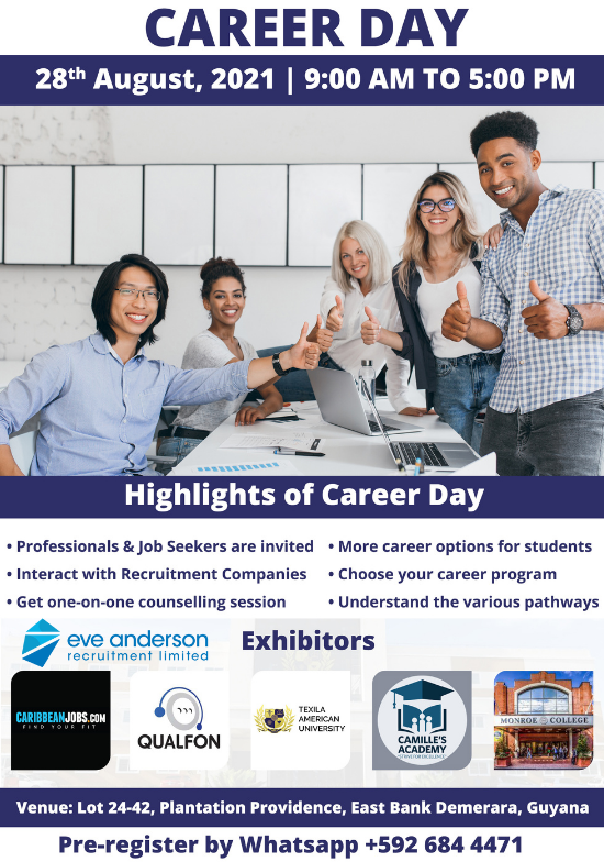 Eve Anderson Recruitment at Texila American University to Host Annual Career Day-Open House